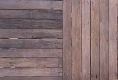 楼层室外木 免版税库存图片