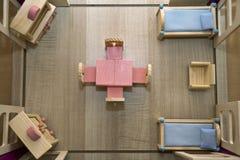 楼层房子计划 免版税图库摄影