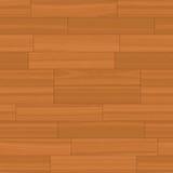 楼层无缝的向量木头 库存例证