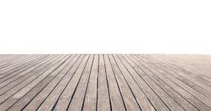 楼层木头 免版税库存图片