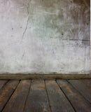 楼层老墙壁 免版税库存照片