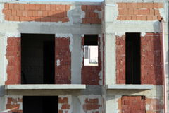 楼房建筑站点 免版税库存照片