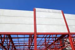 楼房建筑行业钢结构 免版税库存照片