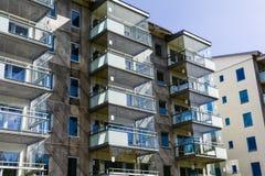 楼房建筑房子新的站点 免版税库存图片