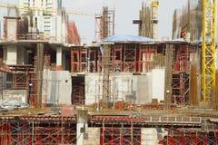 楼房建筑新下面 免版税库存图片