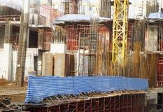 楼房建筑新下面 免版税库存照片