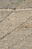 楼梯圆形剧场在希腊 库存照片
