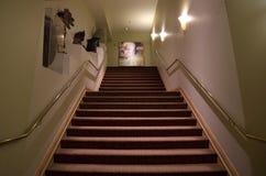 楼梯在一家豪华旅馆 库存照片