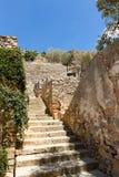 楼梯在史宾纳隆加岛 库存照片