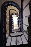 楼梯在巴黎 免版税库存照片