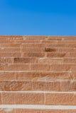 楼梯在petra约旦nabatean城市 免版税库存照片