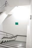 楼梯大厦 免版税库存照片