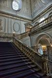 楼梯大理石宫殿 免版税库存图片