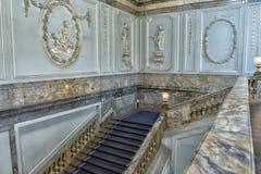 楼梯大理石宫殿 库存图片