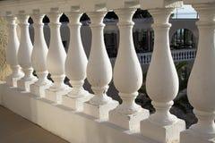 楼梯栏杆希腊样式 库存图片