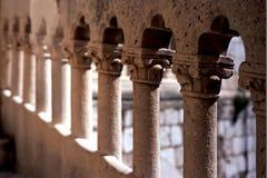 楼梯栏杆杜布罗夫尼克市 库存照片