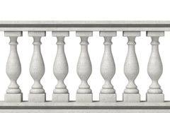 楼梯栏杆柱子 皇族释放例证