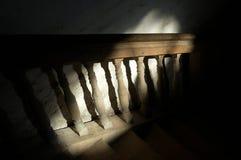 楼梯栏杆 图库摄影