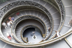 楼梯梵蒂冈 免版税库存图片