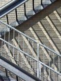 楼梯特写镜头 免版税库存图片