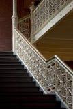 楼梯葡萄酒 库存图片
