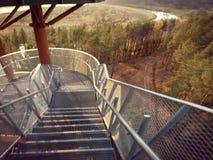 楼梯视图 免版税库存照片