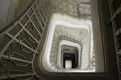 楼梯视图 库存照片