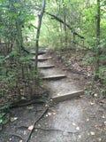 楼梯道路 免版税库存图片