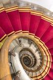楼梯间在波兰宫殿。 库存照片
