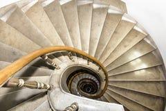 楼梯间在波兰宫殿。 图库摄影