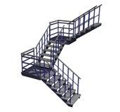 楼梯 皇族释放例证