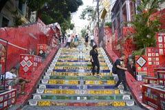 楼梯Selaron 库存照片