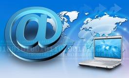 概念互联网 免版税库存图片