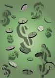 概念例证货币时间 免版税图库摄影