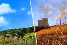 概念保护环境查出的白色 图库摄影