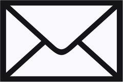 概念信包邮件 库存图片