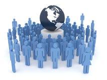 概念全球化 免版税库存照片
