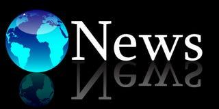 概念全球新闻 免版税库存图片