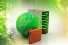 概念全球网络连接 库存照片