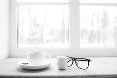 概念冬天早餐 免版税库存图片