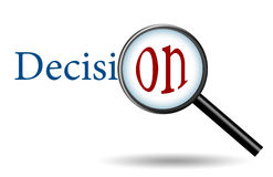 概念决策 免版税库存图片