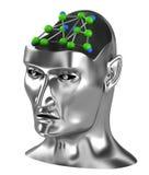 概念净神经系统 库存照片