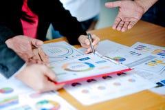 概念分析宽作用Fi的业务会议介绍 库存图片