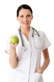 概念吃健康生活方式 免版税库存照片