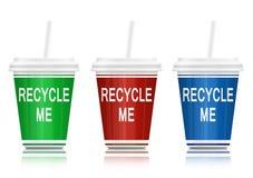 概念回收 库存图片