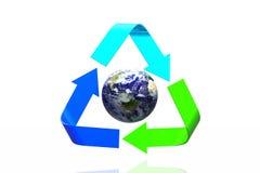概念回收 免版税库存图片