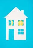 概念图象做您一个房子 库存照片