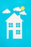 概念图象做您一个房子 免版税库存图片