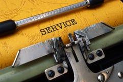 概念图象服务等候人员 免版税图库摄影