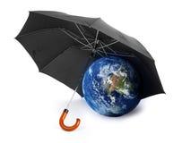 概念地球保护 免版税库存图片